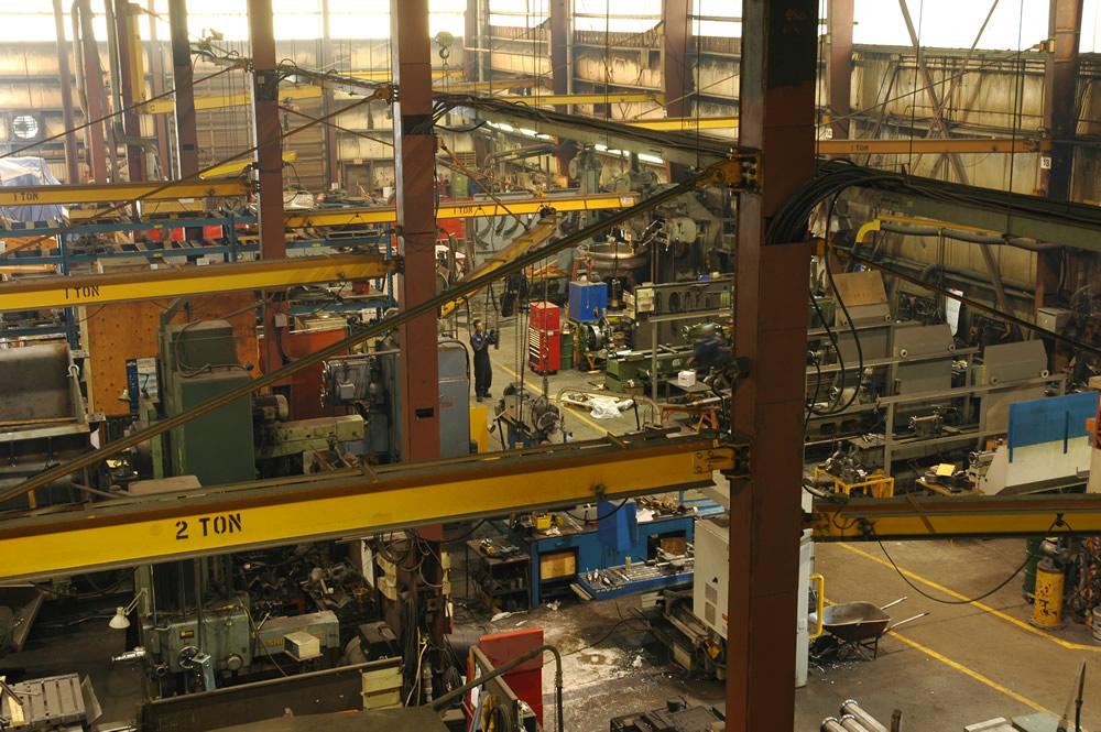 Brunette Machinery - Machine Shop View